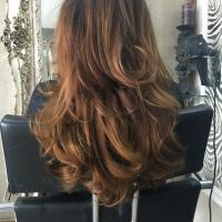 Lushlocks - Curly Brown Extension 1