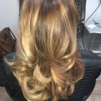 Lushlocks - curly Brown Extension 6