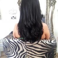 Lush Locks - Long Brunette Hair Extensions After