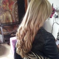 Lush Locks - Long Blonde Hair Extensions After 1