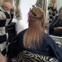 Lush Locks - Long Blonde Hair Extensions Before 1