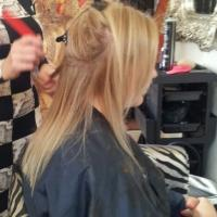 Lush Locks - Long Blonde Hair Extensions Before 2